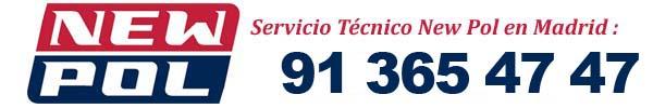Telefono servicio tecnico new pol madrid